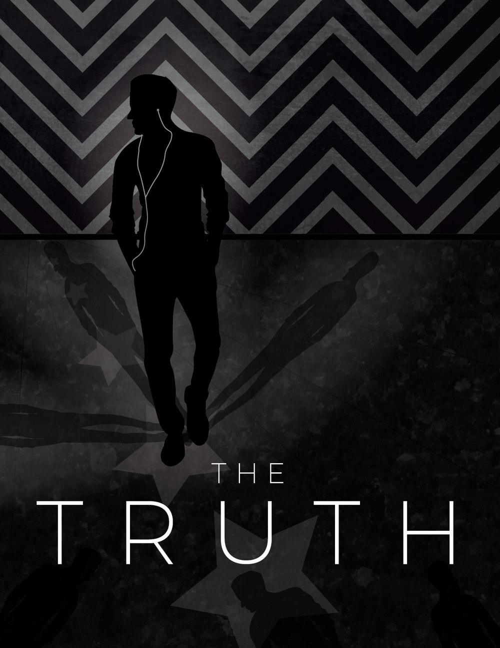 The Truth Postcard/Flyer Design