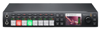 New Blackmagic ATEM Television Studio HD switcher with front-mounted push button controls and display for only $995.00