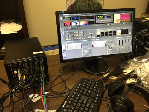 NEWTEK TRICASTER PRO FOR SALE . . . ASKING $550.00 . . . .