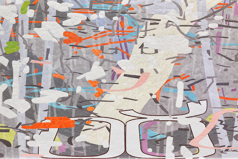 Untitled (Large Variation), 2015 (detail)