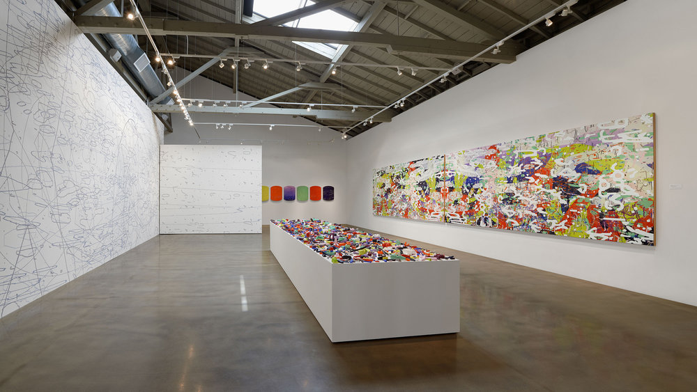 Iterations & Assertions  at the San Jose Institute of Contemporary Art, 2014.