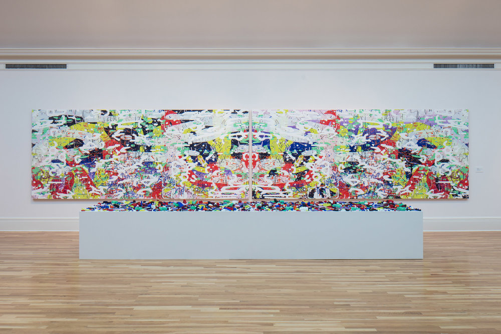 Unfamiliar Again: Contemporary Women Abstractionists  at the Newcomb Art Museum, 2017.