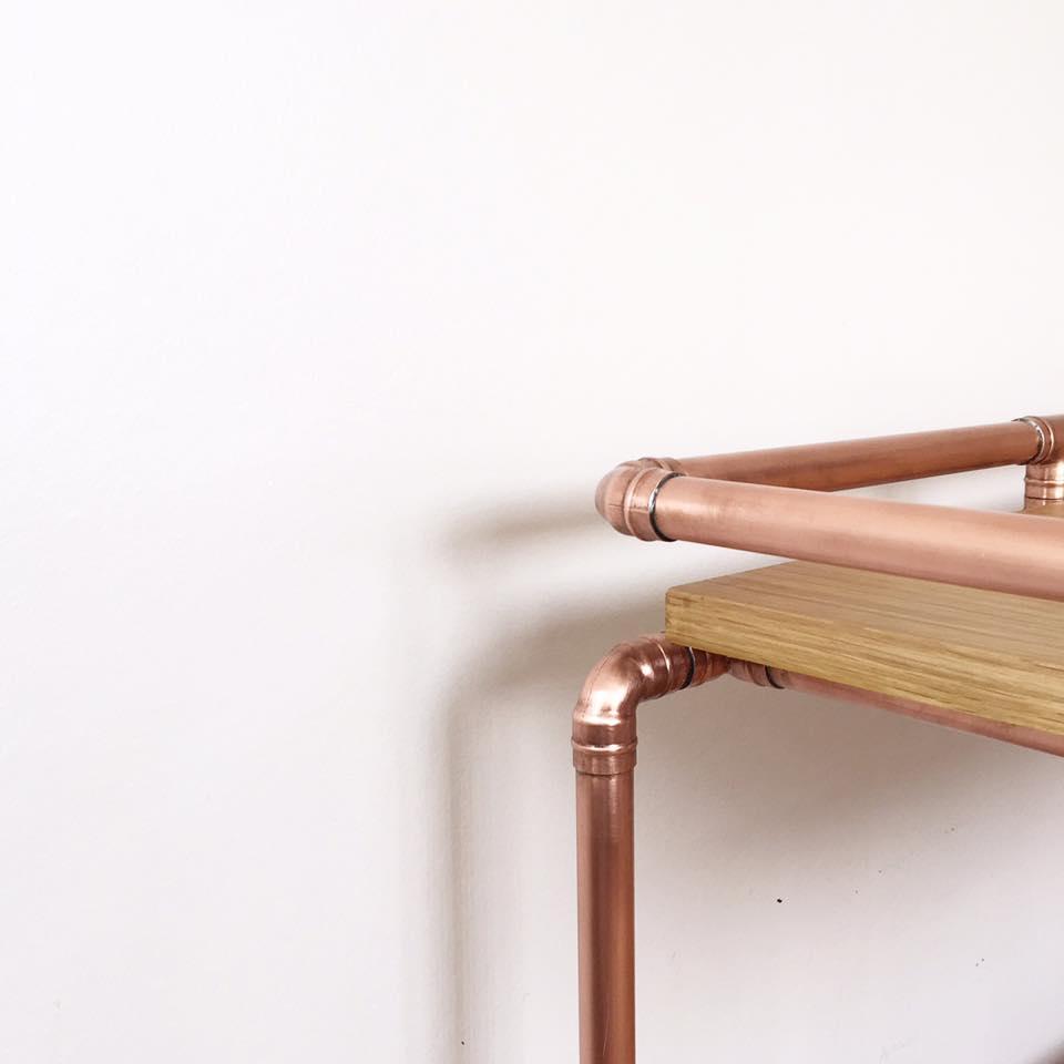 Bespoke Copper Table