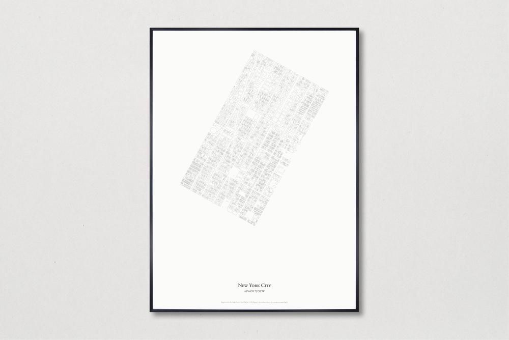 NYC Minimal Print