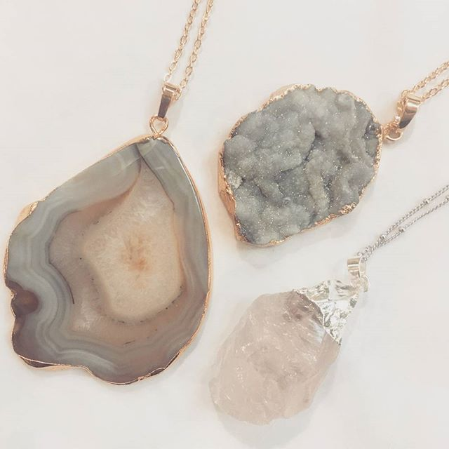 There's more where these lovelies came from! Pop up to the  #nemplsartsdistrict for #craftza. We're here today until 4pm! #mnartist #jewelrygram #jewelry #minnesotamade #shoplocal #shopmn