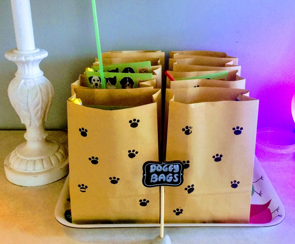And last but not least Doggy Bags for all the adorable guests!