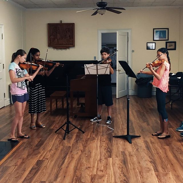 Love working with this group of budding chamber musicians! ❤️
