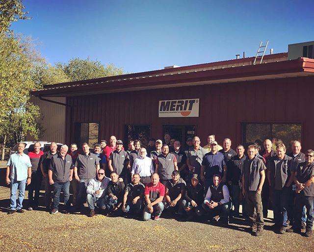 #meritsaw welcomes the #icsdiamondtools #pentruder sales and marketing team to the Grand Canyon state
