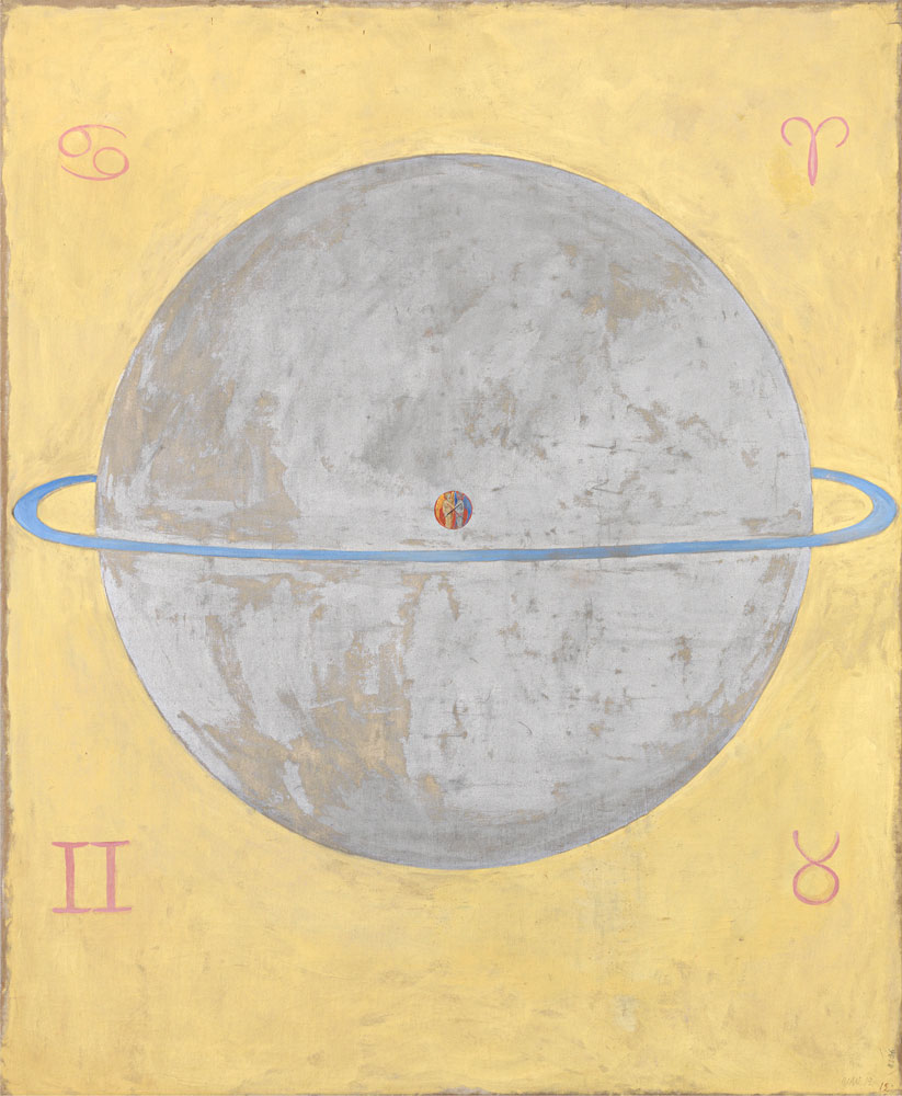 Hilma af Klint: Paintings for the Future - When Hilma af Klint began creating radically abstract paintings in 1906, they were like little that had been seen before: bold, colorful, and untethered from any recognizable references to the physical world. It was years before Vasily Kandinsky, Kazimir Malevich, Piet Mondrian, and others would take similar strides to rid their own artwork of representational content. Yet while many of her better-known contemporaries published manifestos and exhibited widely, af Klint kept her groundbreaking paintings largely private. She rarely exhibited them and, convinced the world was not yet ready to understand her work, stipulated that it not be shown for twenty years following her death. Ultimately, her work was all but unseen until 1986, and only over the subsequent three decades have her paintings and works on paper begun to receive serious attention.
