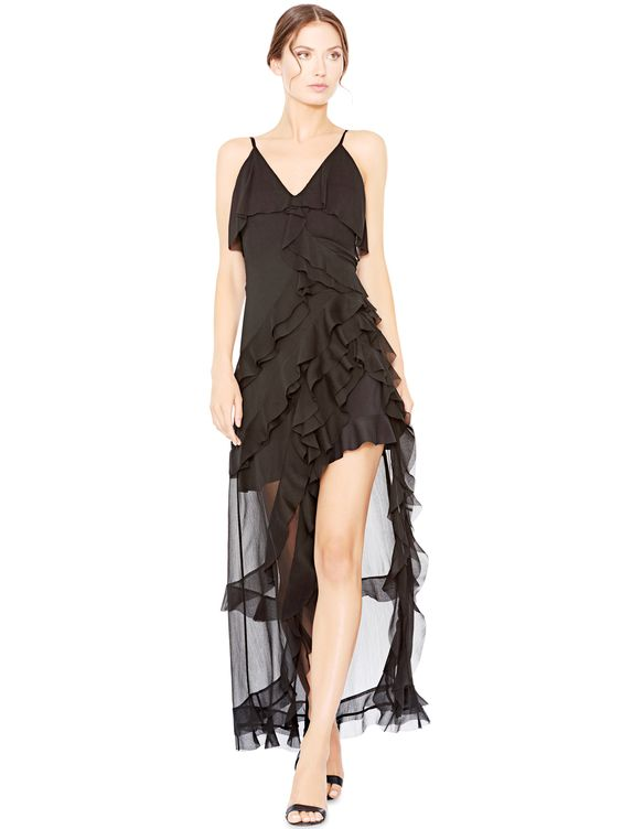 61e56554c0d2 You need a black dress for forever and the Laverne Asymmetrical Dress from  Alice + Olivia is such a keeper. (I seriously want it for myself.