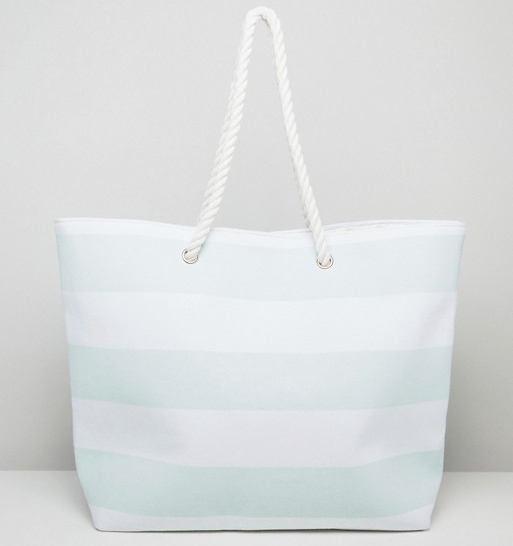 2bdb3d3c0 You can t go wrong with a classic nautical style beach tote. This striped  bag from ASOS fits everything you need for a chic beach day.