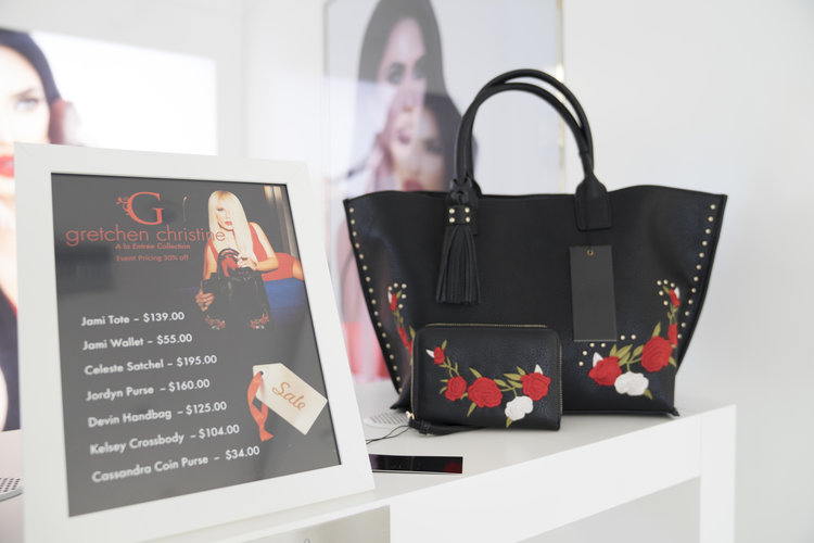 4e6838e41a9d A Party For A Real Housewife s Really Cute Bag Line — It s Amanda Lauren