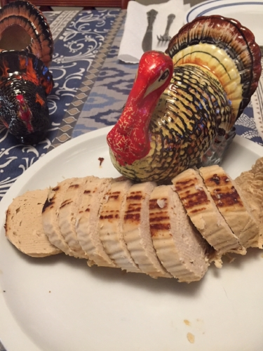 No turkeys were harmed during the making of this meal