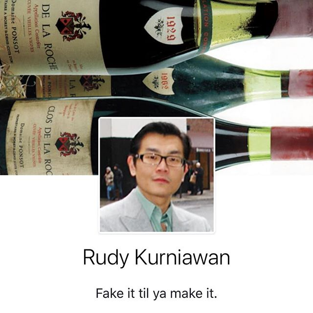 Rudy Kurniawan. #keepingitreal #goodsommbadsomm