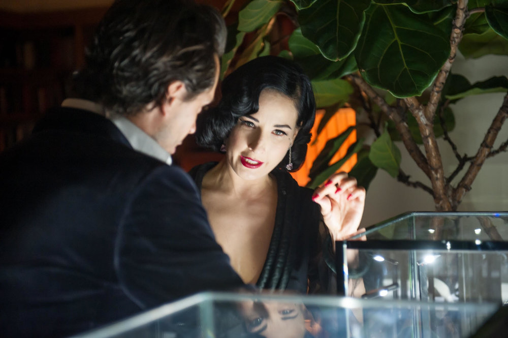 Kilian Hennessy & Dita von Teese