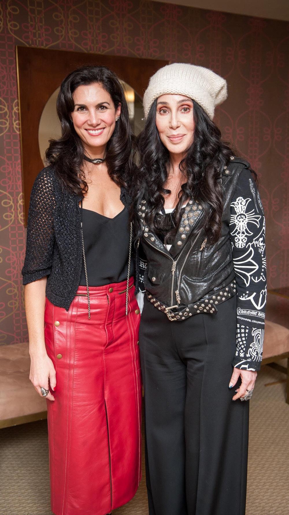 Elisabeth Jones-Hennessy & Cher