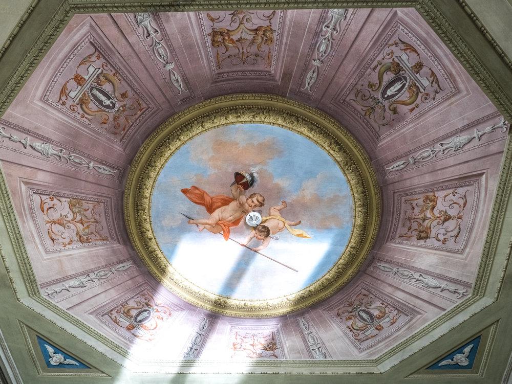 Ceiling of the Aquazzura headquarters
