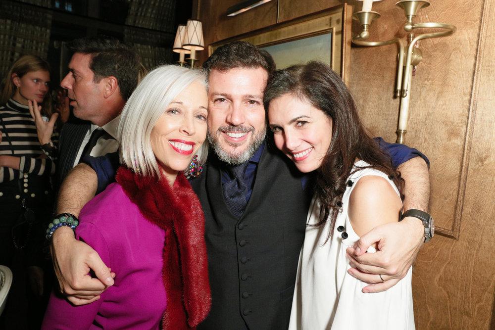 Linda Fargo, Ramon Mac Crohon, Elisabeth Jones-Hennessy