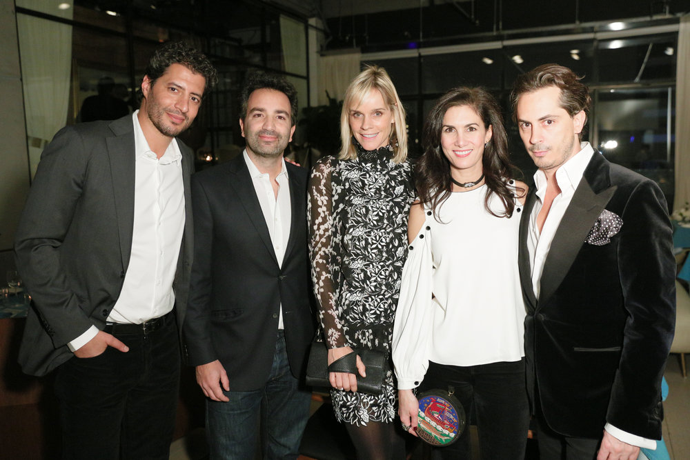 From left to right: Imad Izemrane, Francesco Costa, Anoushka Mac Crohon, Elisabeth Jones-Hennessy, Kilian Hennessy.