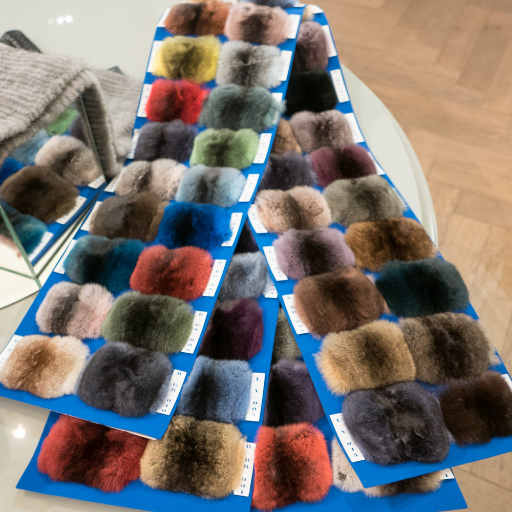 IZETA fur color options
