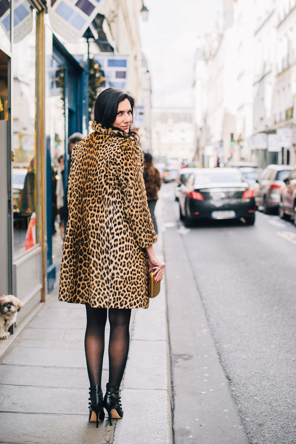 Rare leopard coat
