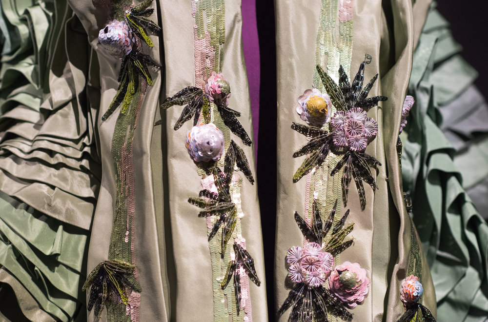 John Galliano kimono details
