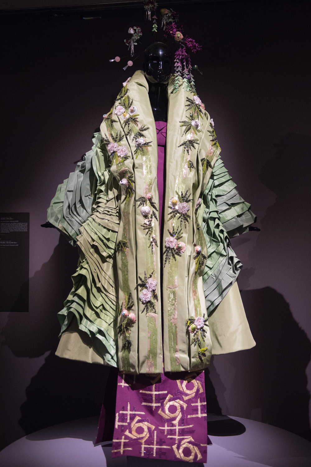 John Galliano embroidered kimono