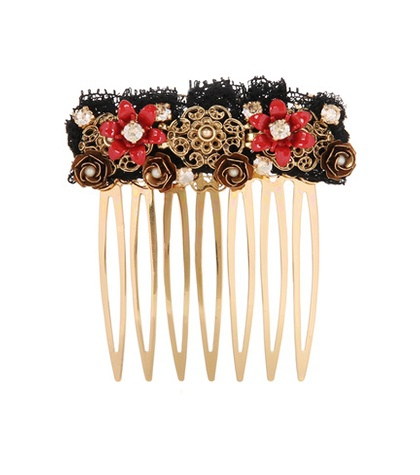 DOLCE & GABBANA  Embellished Hair Comb