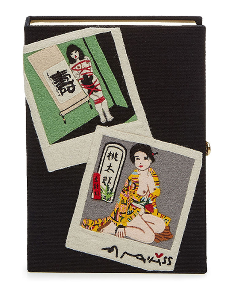 OLYMPIA LE-TAN  Araki Embroidered Clutch