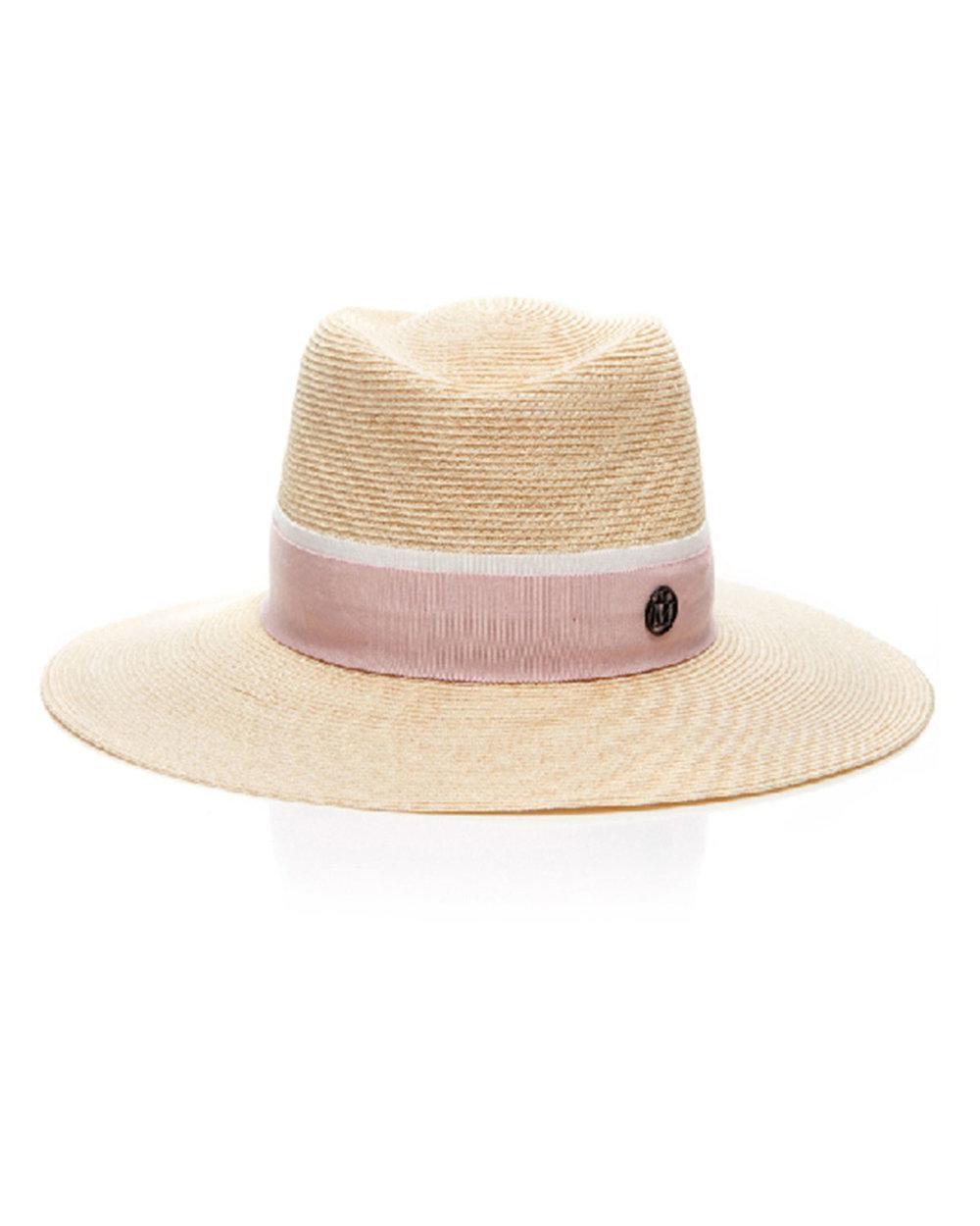 MAISON MICHEL  Charles Canapa Hat