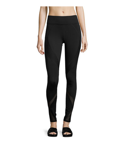 MICHI  Mesh-Panel Performance Leggings