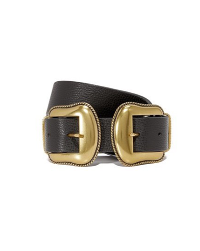 B-LOW THE BELT  Two Buckle Belt