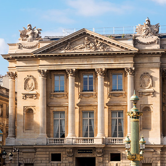 Recently re-opened after a massive renovation, Hôtel Crillon is all the buzz this summer