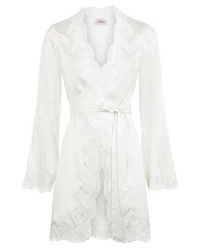 AGENT PROVOCATEUR  Amelea Pyjama Top Ivory