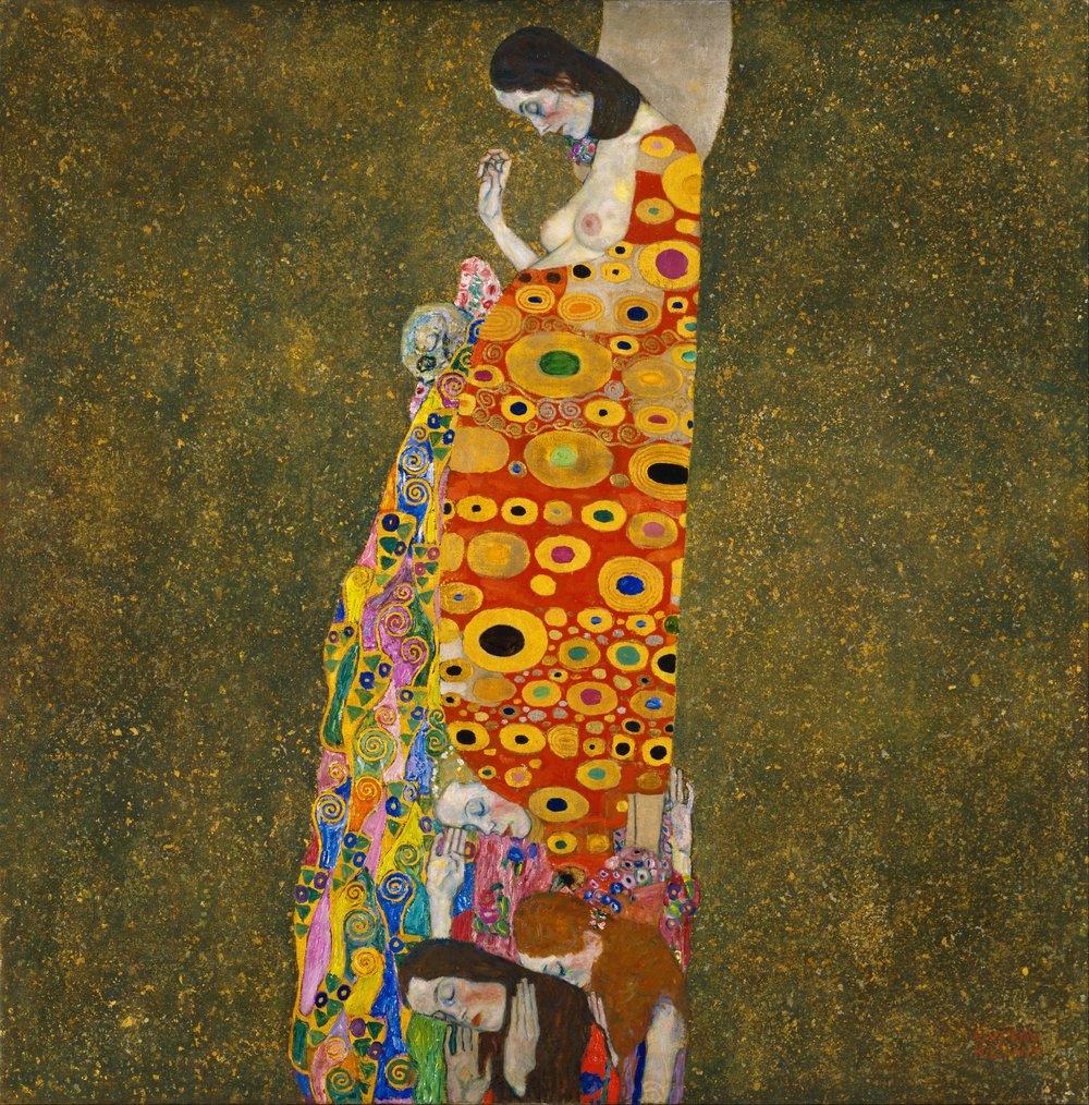 Gustav Klimt  Hope II, 1907-1908