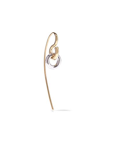 CHARLOTTE CHESNAIS  Gold-Dipped Swing Earring