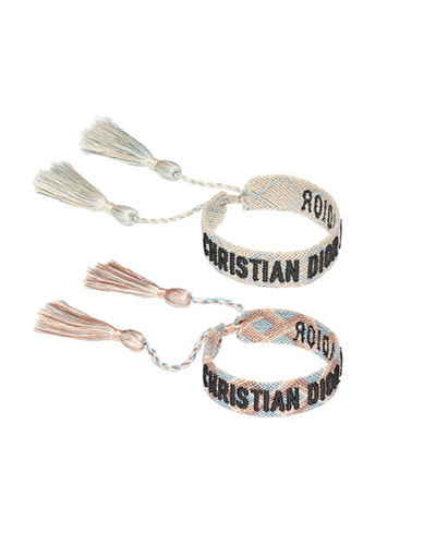 DIOR  J'Adore Dior Woven Bracelet