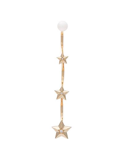 DELFINA DELETTREZ  Star Cascade Earring