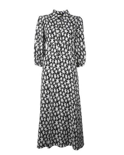 SAINT LAURENT  Star Print Dress