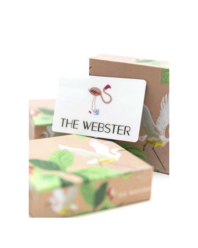 THE WEBSTER  Gift Card