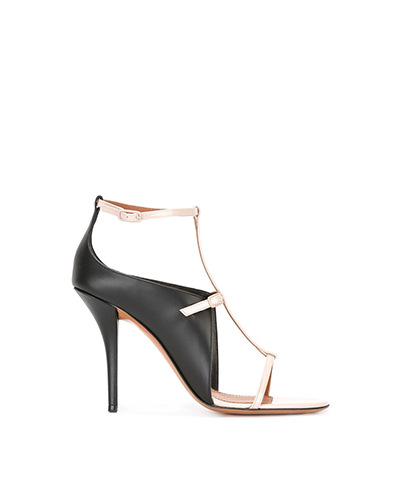GIVENCHY  Monochrome Cage Sandals