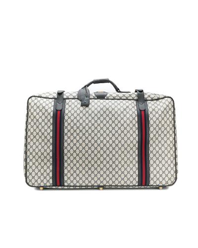 GUCCI  Vintage GG Supreme Luggage Bag