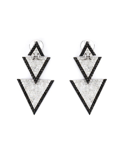 ELISE DRAY  Triangle Drop Earrings
