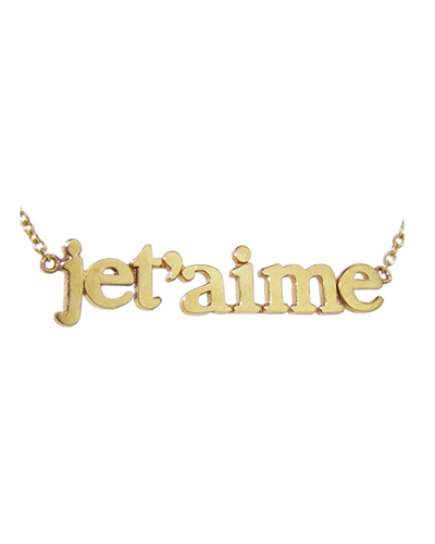 JENNIFER MEYER  Je T'aime Necklace
