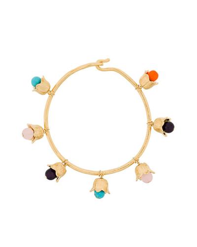 AURELIE BIDERMANN  Flower Charm Bracelet