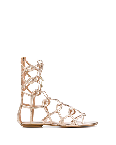 AQUAZZURA  Mumbai Gladiator Sandals