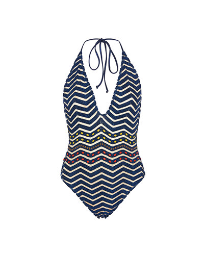 MISSONI MARE  Chevon Crochet Swimsuit