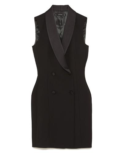 ZARA  Tuxedo Dress Vest