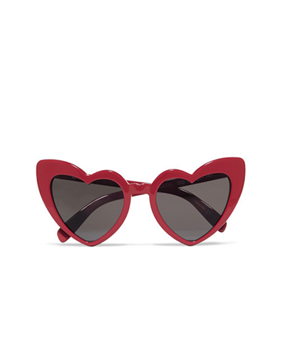 SAINT LAURENT  Loulou Heart-frame Sunglasses