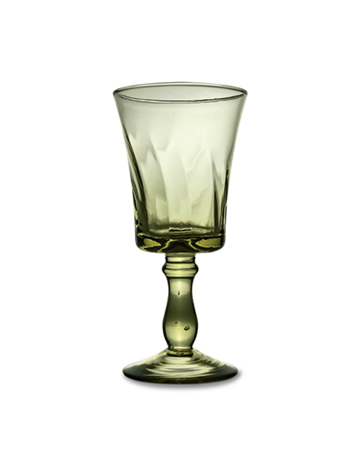 FÊTE HOME  Olive Twirl Wine Glass